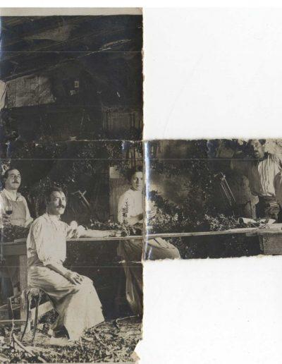 Les ateliers de tressage de guirlandes Robbi au début du Xxe siècle