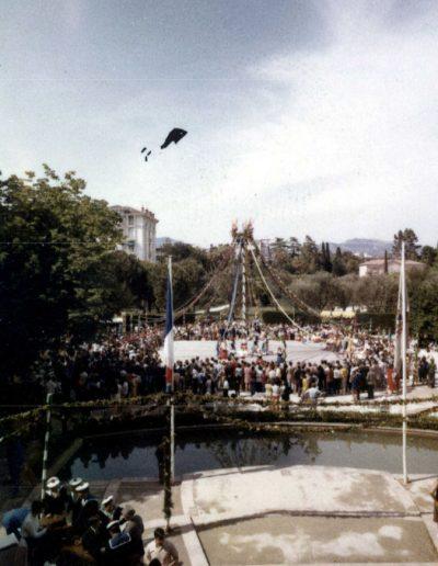 1970 : aux Arènes de Cimiez