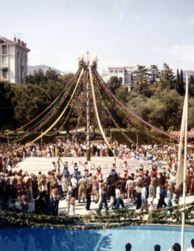 1973 : aux Arènes de Cimiez