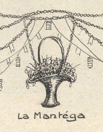 Décoration du mai de la Mantéga en 1926