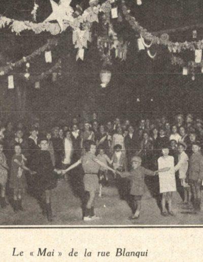 Le mai de la Place de la rue Blanqui en 1926