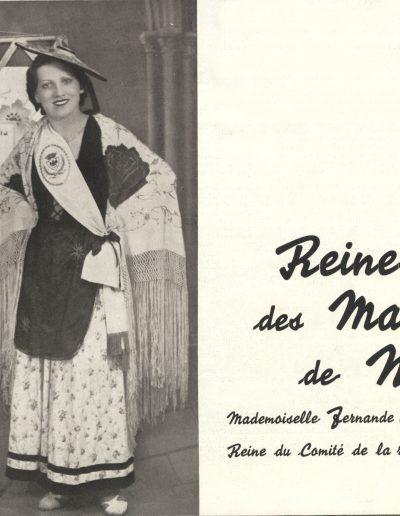 Fernande Grasso, reine du comité de la rue Trachel, juin 1935 (Eclaireur du Dimanche) 9