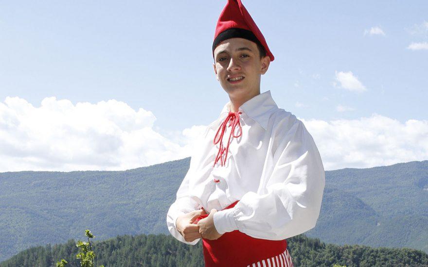 Exposition de costumes traditionnels