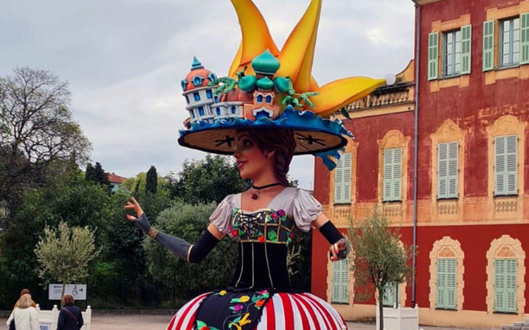 Exposition de la Tête de la Reine de Carnaval 2020